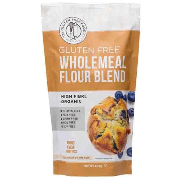 The Gluten Free Food Co Gluten Free Wholemeal Flour Blend 400g - Happy Tummies
