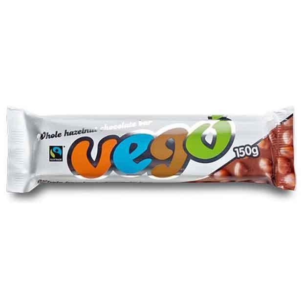 Vego Hazelnut Chocolate Bar 150g - Happy Tummies