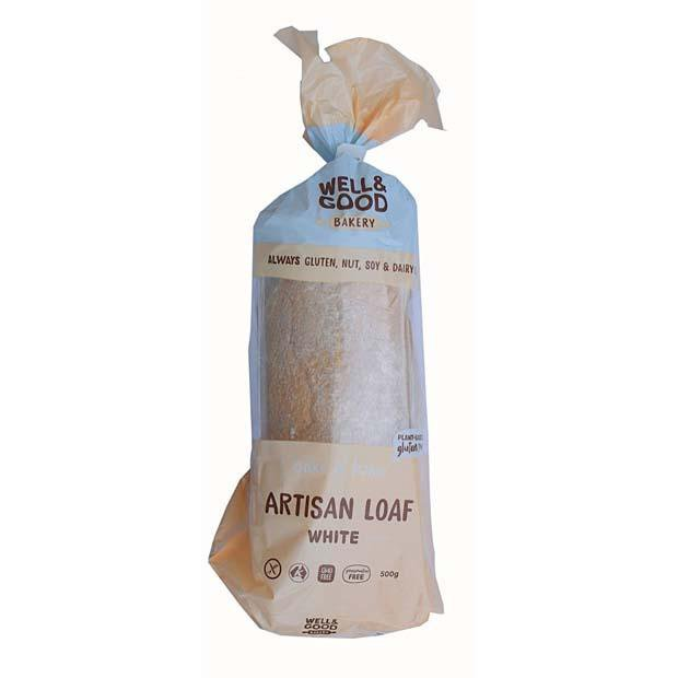 Well & Good Bake At Home Artisan Loaf White 500g - Happy Tummies