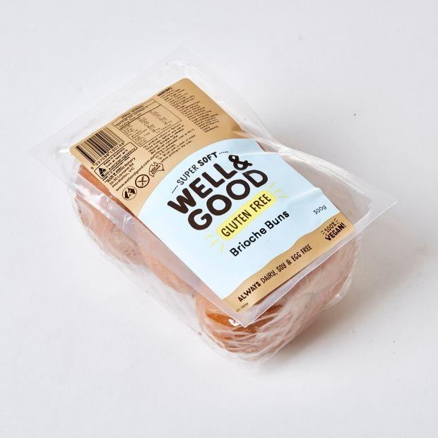 Well & Good Brioche Buns 300g **Select EXPRESS Shipping at Checkout** - Happy Tummies
