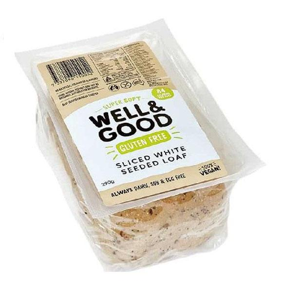 Well & Good Sliced Seeded Loaf 290g **Select EXPRESS Shipping at Checkout**