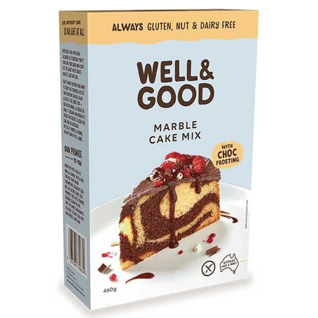 Well & Good Marble Cake Mix 460g - Happy Tummies