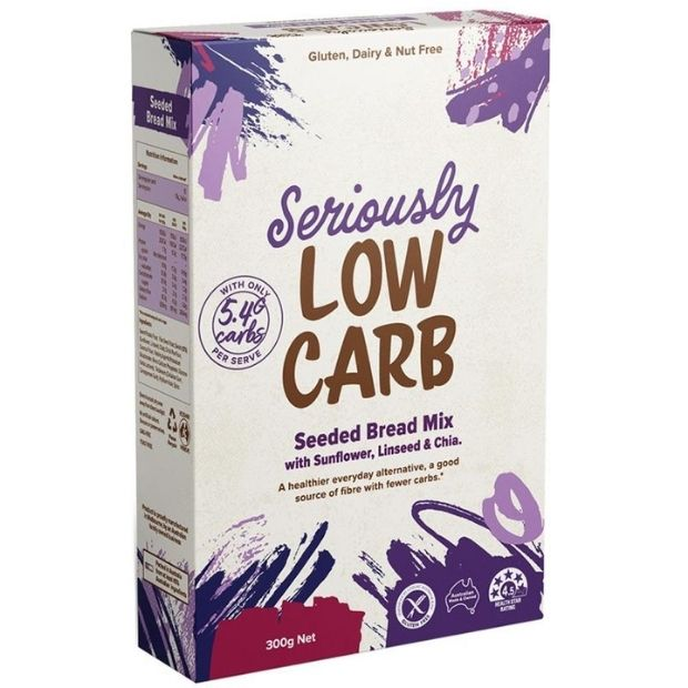 Well & Good Seriously Low Carb Seeded Bread Mix 300g