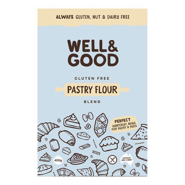 Well & Good Gluten Free Pastry Flour 400g - Happy Tummies