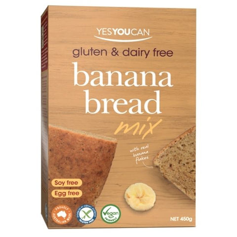 Yes You Can Banana Bread Mix 450g