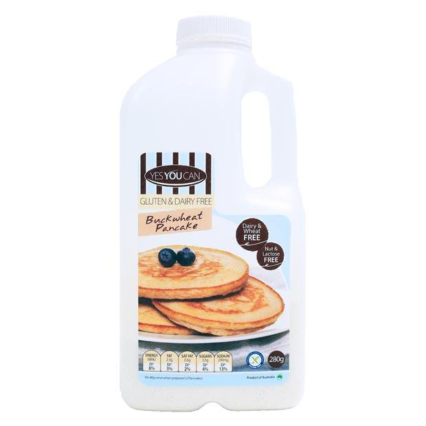 Yes You Can Buckwheat Pancake Mix 280g - Happy Tummies