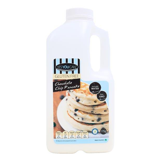 Yes You Can Chocolate Chip Pancake Mix 175g - Happy Tummies
