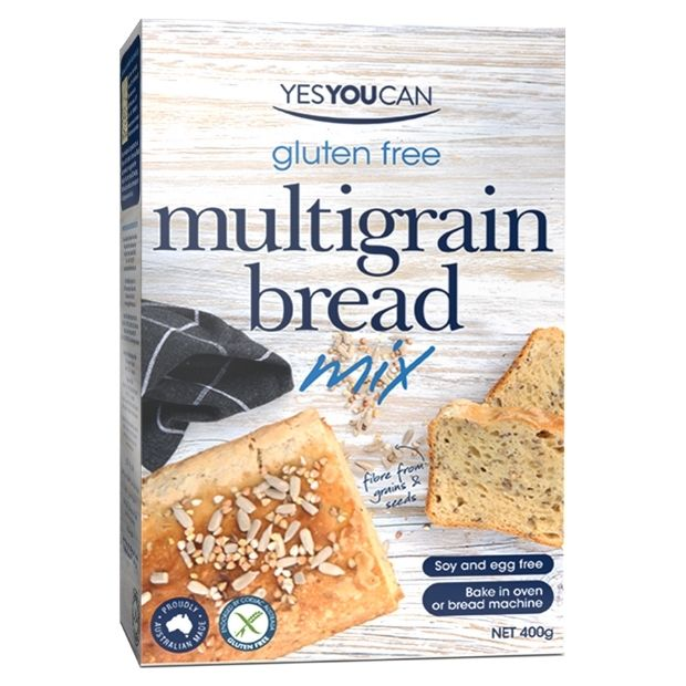 Yes You Can Gluten Free Multi Grain Bread Mix 400g