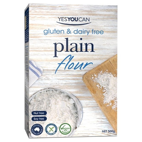 Yes You Can Gluten Free Plain Flour 500g