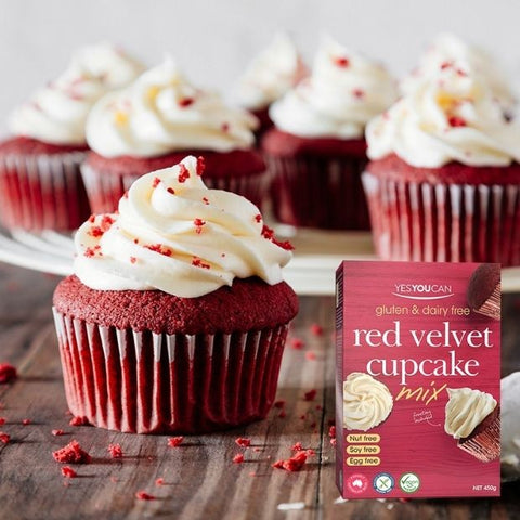 Yes You Can Red Velvet Cupcake Mix 450g
