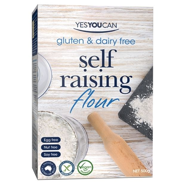 Yes You Can Gluten Free Self Raising Flour 500g - Happy Tummies