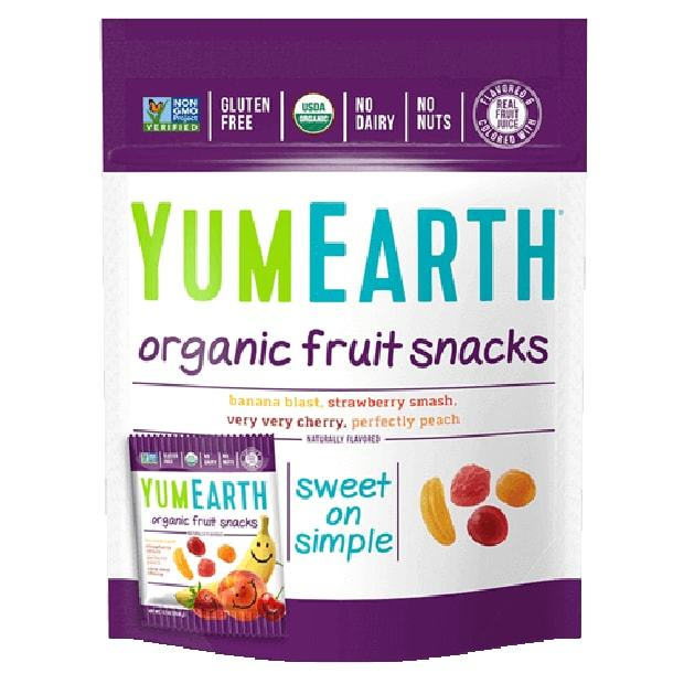 Yum Earth Organics Fruit Snacks 5 pack - Happy Tummies