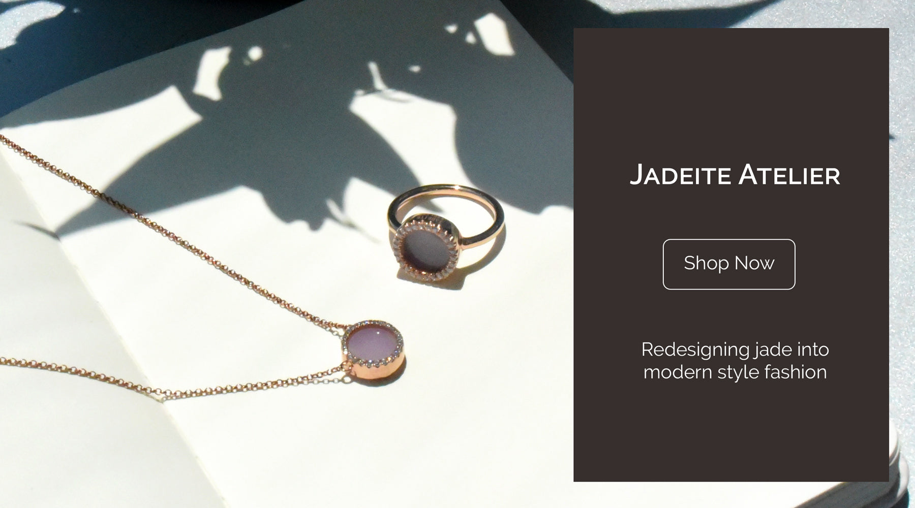 lavender pink jade ring necklace jadeite jewellery