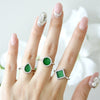 ETERNITY 緣 Ring in Green Jade
