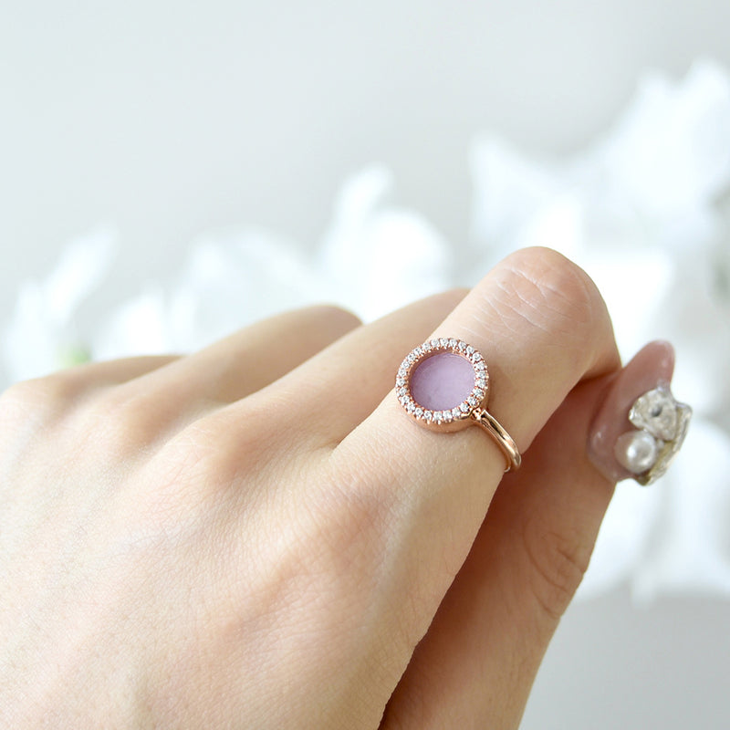 ETERNITY 緣 Ring in Lavender Jade