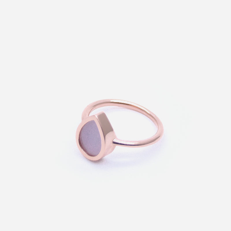 AQUA 水 Ring in Lavender Jade