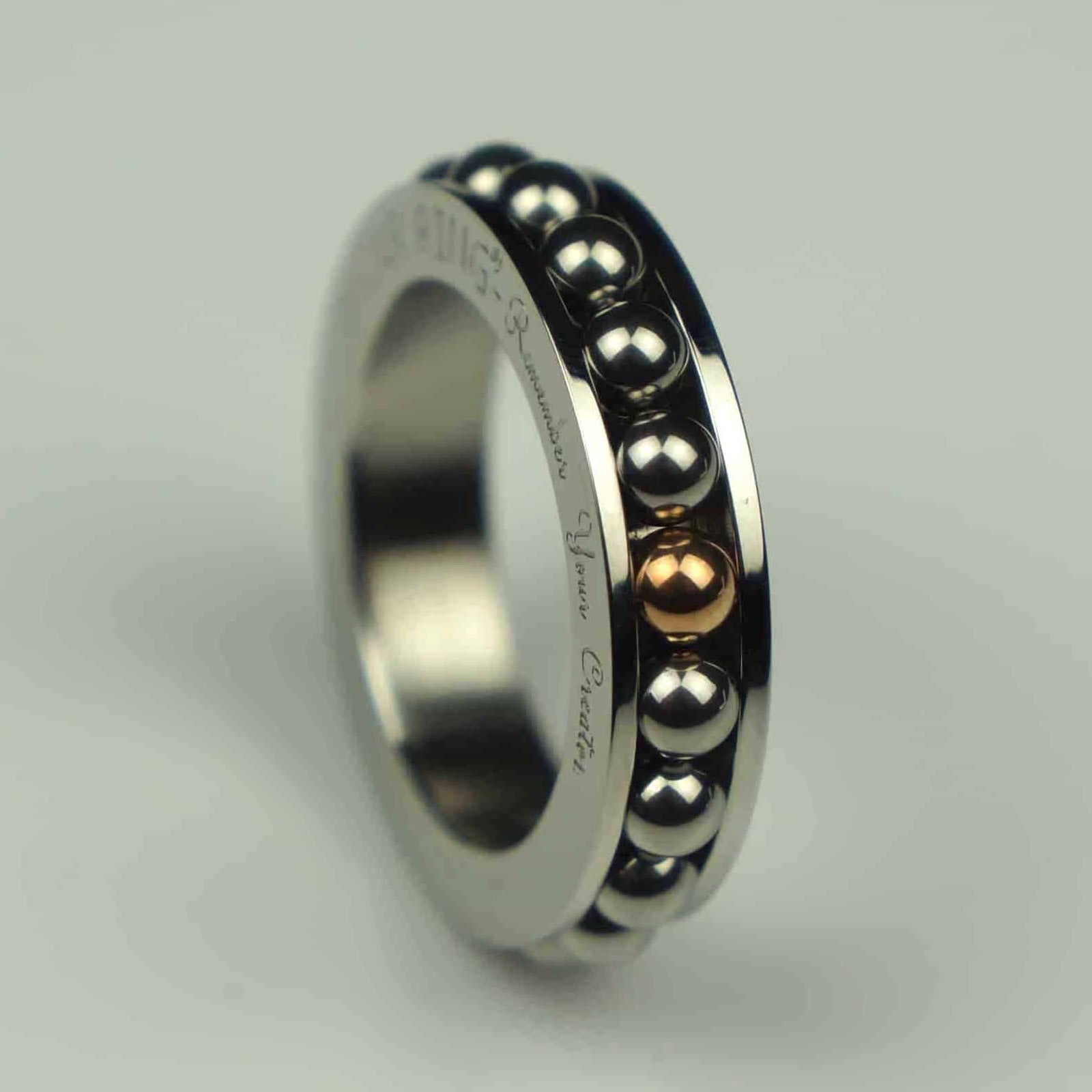 Spinner Ring | Made by Dhikr Ring