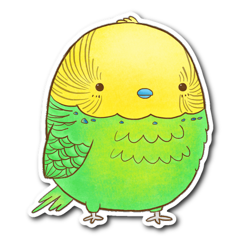 Parakeet Sticker