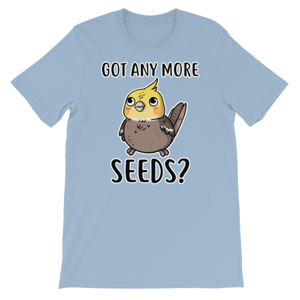 Got Any more seeds bird shirt Blue