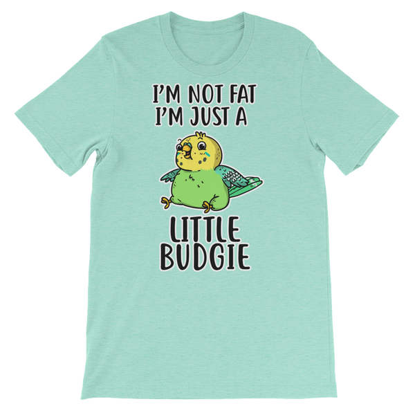 Green Budgie Parakeet shirt blue