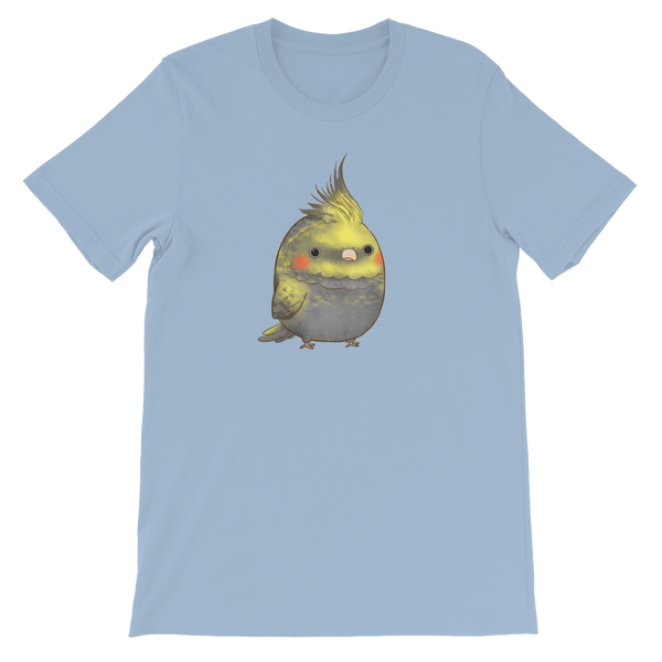 Patchy Grey Cockatiel T-shirt