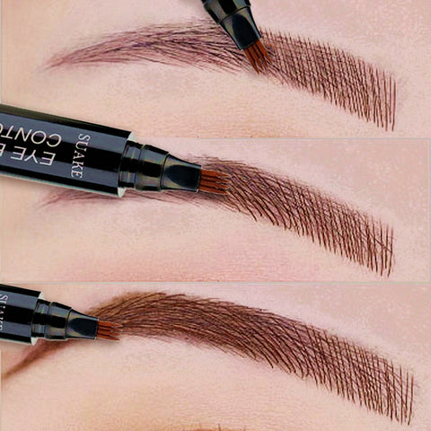 Fork Tip Eye Brow Pencil