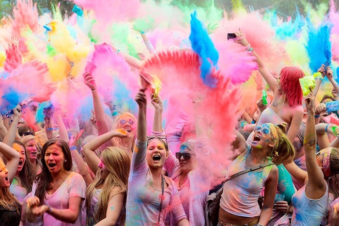 Holi Festival Most Fun National Holiday