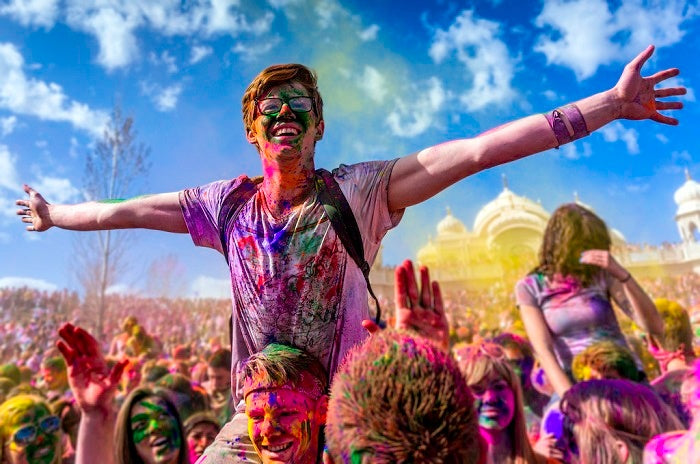 Holi Festival Nation Love