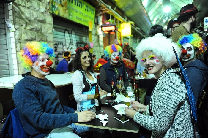 Most Fun National Holiday Purim Israel