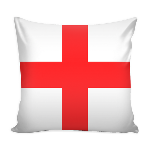 English Flag Decorative Pillow Case