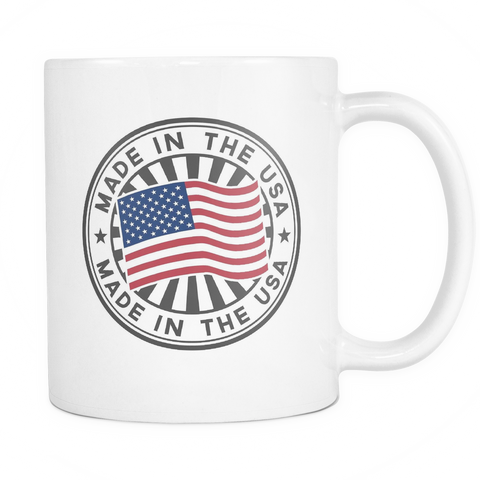 Made in the USA 11oz Coffee Mug - Nation Love