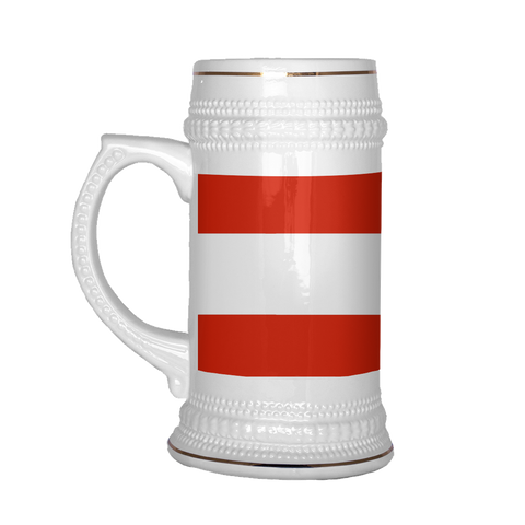 Austrian Coat of Arms 22oz Beer Mug, Beer Stein - Nation Love