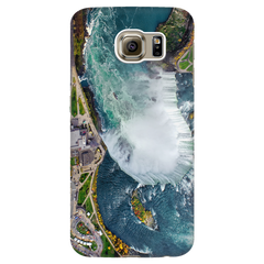 Niagara Falls Birds Eye View Protective Phone Case