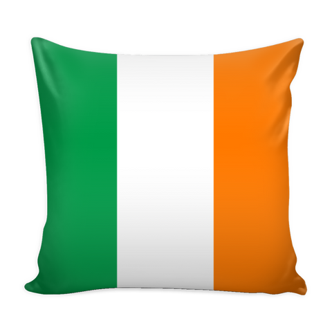 Irish Flag Decorative Pillow Case - Nation Love
