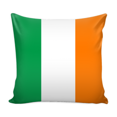 Irish Flag Decorative Pillow Case