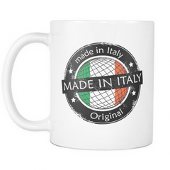 Made in Italy 11oz Coffee Mugg - Nation Love