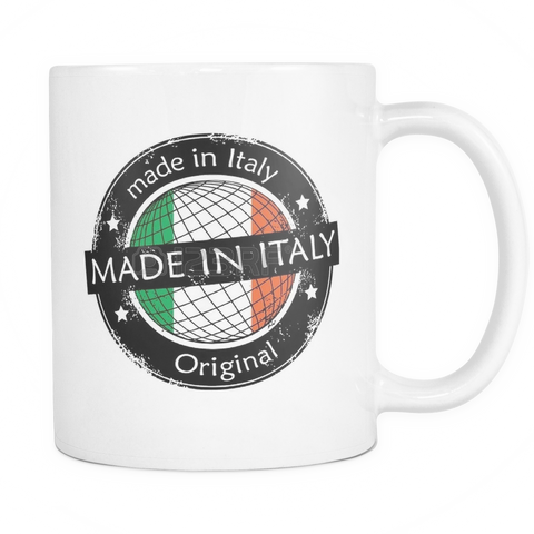Made in Italy 11oz Coffee Mug - Nation Love