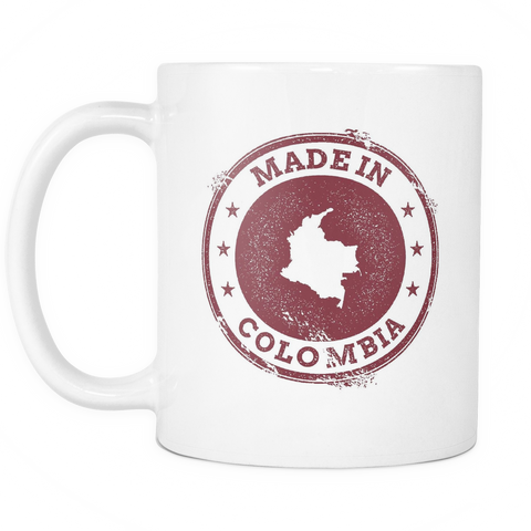 Made in Colombia 11oz Mug - Nation Love