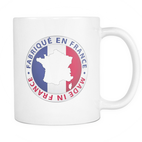Made in France 11oz Coffee Mug - Nation Love