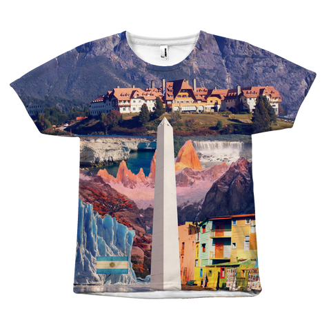 Argentina Landmarks Unisex T-Shirt - Nation Love