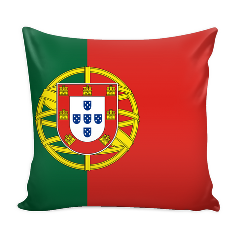 Portuguese Flag Decorative Pillow Case