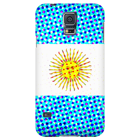 Argentinian Flag Protective Phone Case - Nation Love