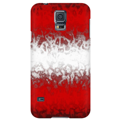 Austrian Flag Protective Phone Case