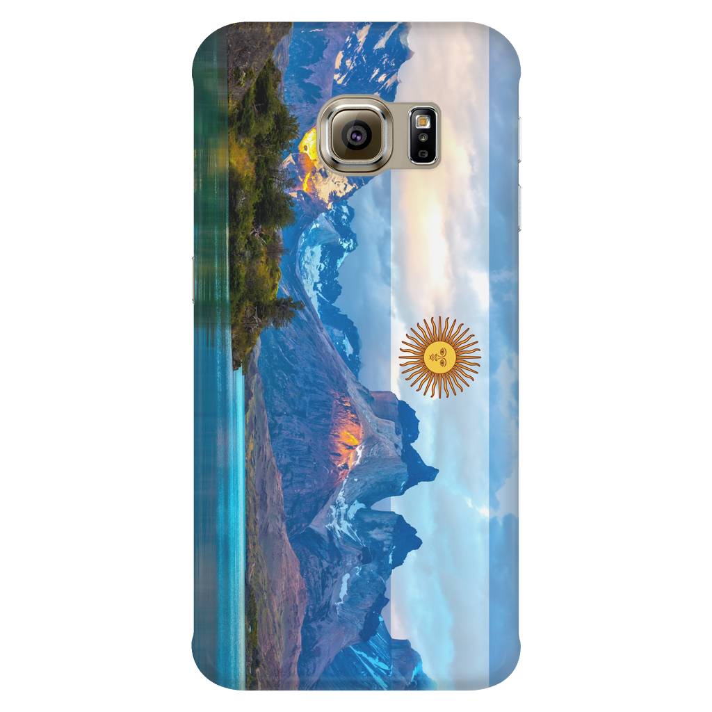 Argentinian Landscape Protective Phone Case - Nation Love