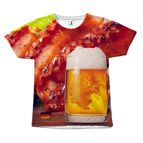 German Sausage and Beer Unisex T-Shirt - Nation Love
