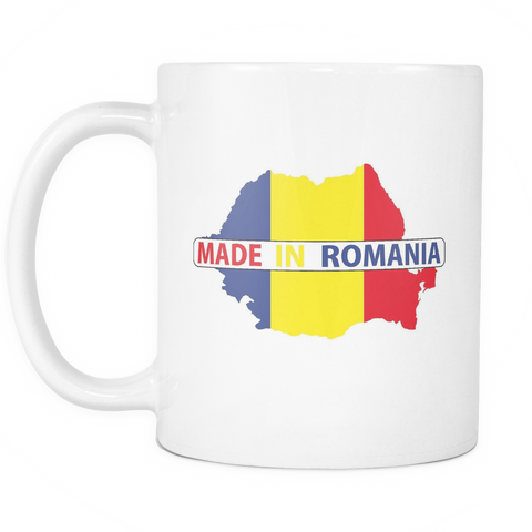 Made in Romania 11oz Mug