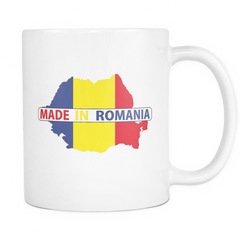 Made in Romania 11oz Coffee Mug - Nation Love