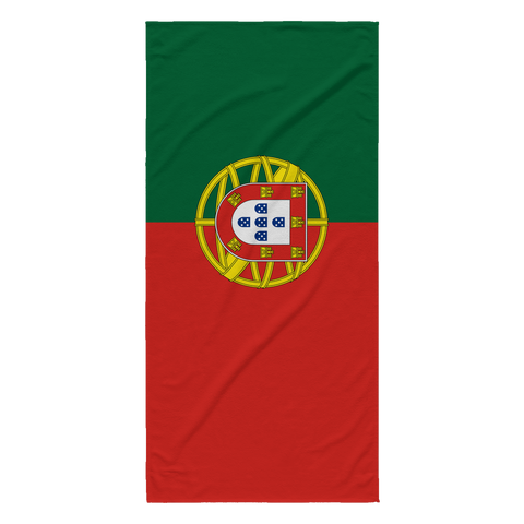 Portuguese Flag Beach Towel