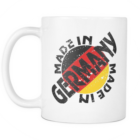Made in Germany 11oz Coffee Mug - Nation Love