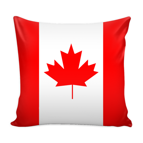 Canadian Flag Decorative Pillow Case